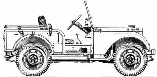Land Rover Centre Steer (1947)
