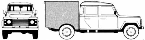 Land Rover Defender 6x6 Crew Cab