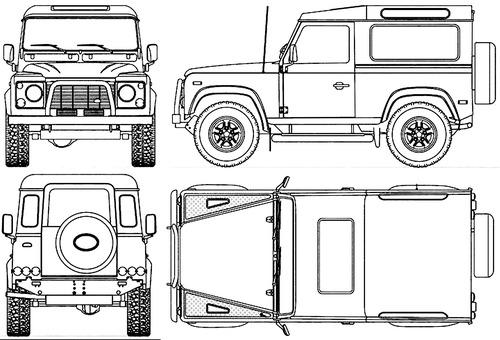Land Rover Defender 90 (1989)