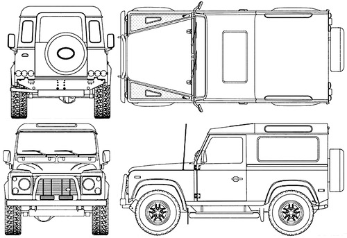 Land Rover Defender 90 (1990)