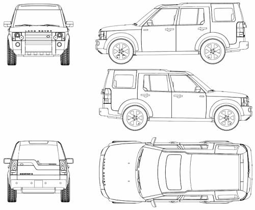 Blueprints Gt Cars Gt Land Rover Gt Land Rover Discovery Lr3