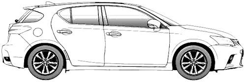 Lexus CT200h (2015)