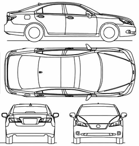 Lexus ES 350 (2010)