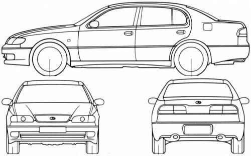 Lexus GS300 (1993)