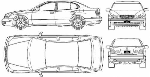 Lexus GS400 (2003)