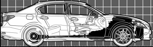 Lexus GS 350F (2013)