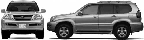 Lexus GX (2005)