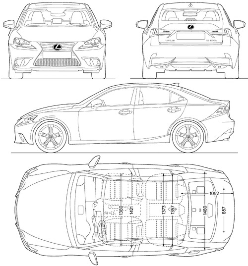 Lexus IS 300h (2014)