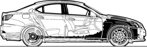 Lexus IS 350 (2007)
