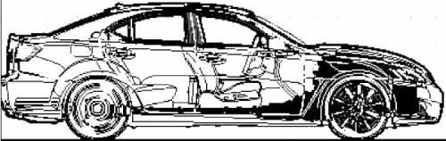 Lexus IS-F (2008)