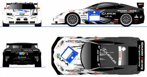Lexus LF-A Nurburgring 24hrs