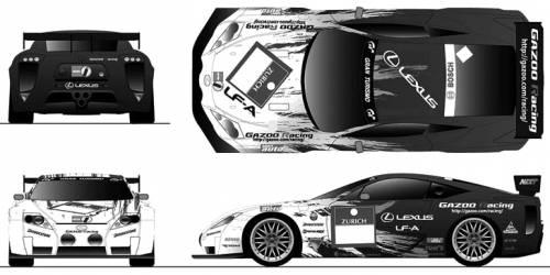 Lexus LF-A Race Car