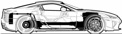 Lexus LFA (2010)