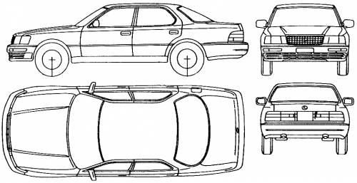 Lexus LS400 (1993)