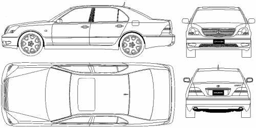 Lexus LS430 (2003)