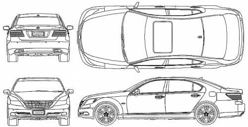 Lexus LS600hL (2008)