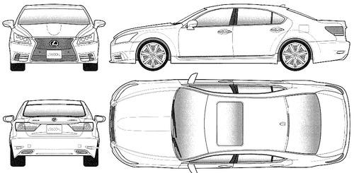Lexus LS600hL (2013)
