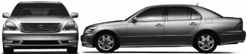 Lexus LS (2005)
