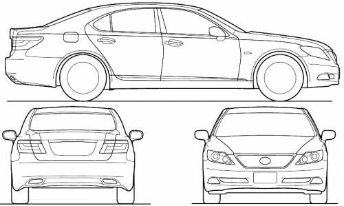 Lexus LS (2007)