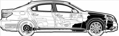 Lexus LS 460 (2007)