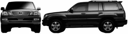 Lexus LX (2005)