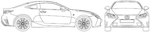 Lexus RC 300 300H F Sport (2016)