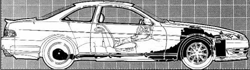 Lexus SC400 (1992)