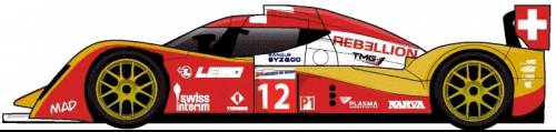 Lola Toyota B10-65 Coupe LM (2011)
