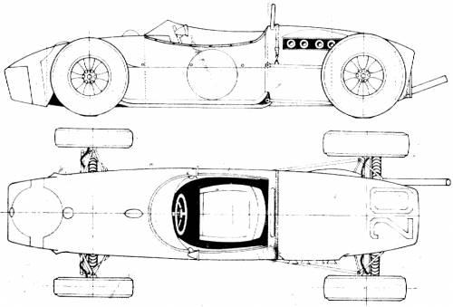 Lotus 18 F1 GP (1961)