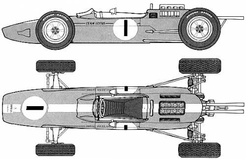 Lotus 25 F1 (1963)