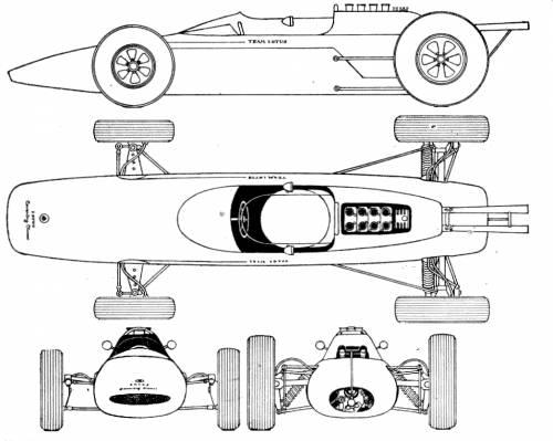 Lotus 25 F1 GP (1962)