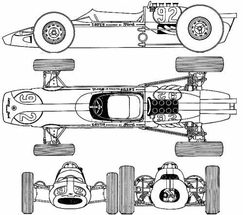 Lotus 29 Indy 500 (1963)