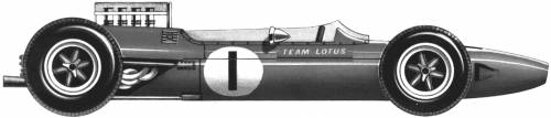 Lotus 33 F1 GP (1965)