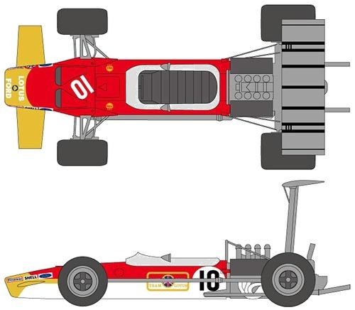 Lotus 49B F1 GP (1968)