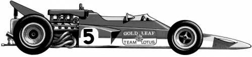 Lotus 72 F1 GP (1970)