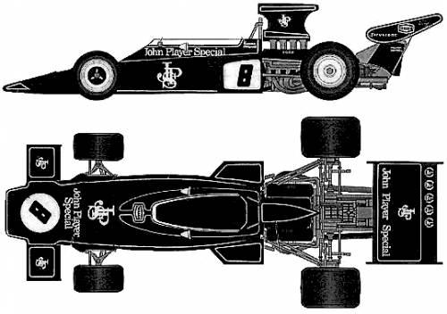 Lotus 72D F1