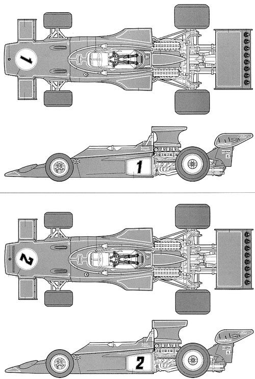 Lotus 72E F1 GP (1973)