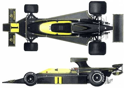 Lotus 76 F1 GP (1974)