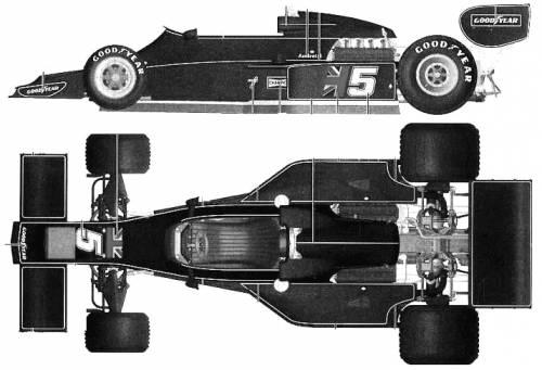 Lotus 77 F1 GP