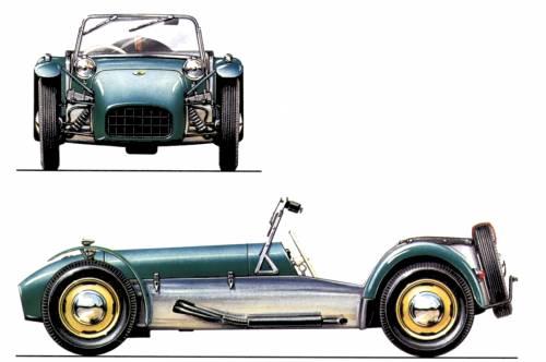 Lotus 7 S3 (1958)