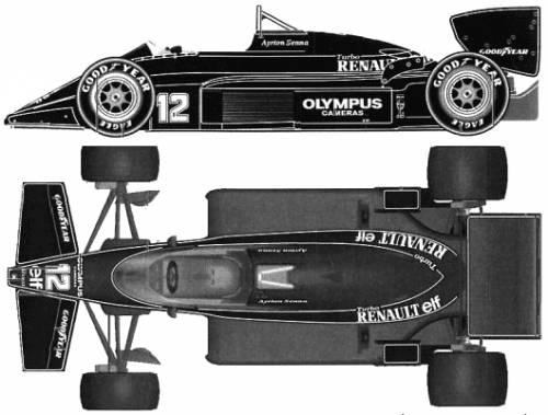 Lotus 97T F1 GP (1985)