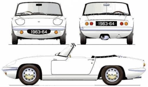 Lotus Elan S1 (1963)