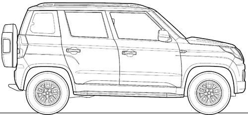 Mahindra TUV300 (2015)