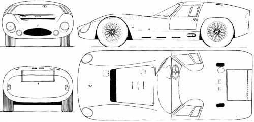Maserati 151-3 LM 5000 GT (1964)