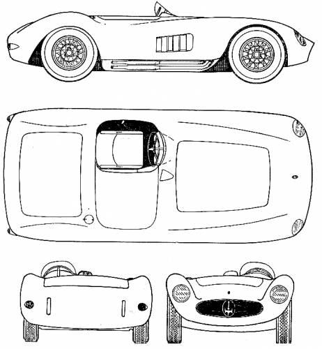 Maserati 300S Nurburgring (1956)