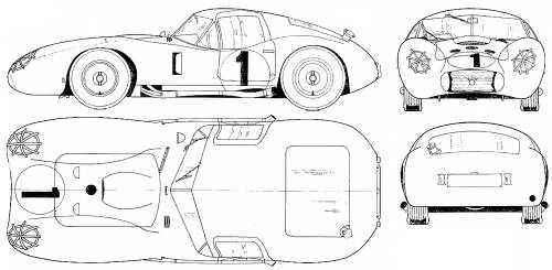 Maserati 450 S Bazooka