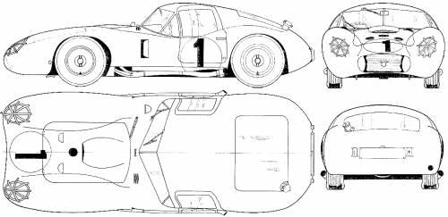 Maserati 450S Coupe Le Mans (1957)