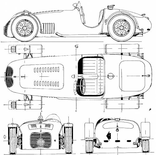 Maserati A6GCS F1 GP (1948)