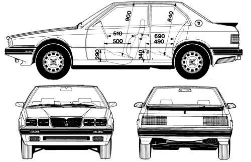 Maserati Biturbo 222 (1992)