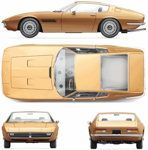 Maserati Ghibli Coupe (1972)